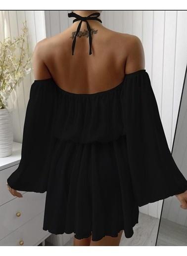 BLACK&GRACE Elbise Siyah